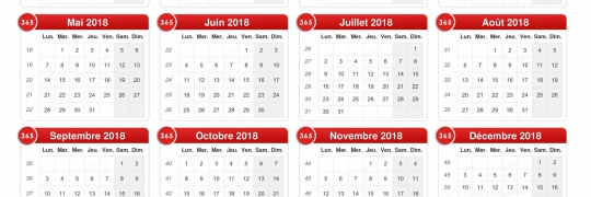ACHAT GROUPE FUEL - Calendrier 2018